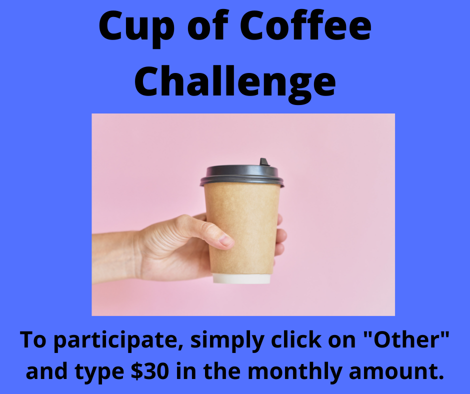 Cup of Coffee Challenge